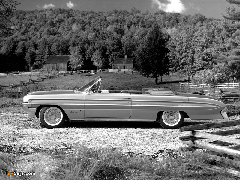 Oldsmobile 98 Convertible (3867) 1961 wallpapers (800 x 600)