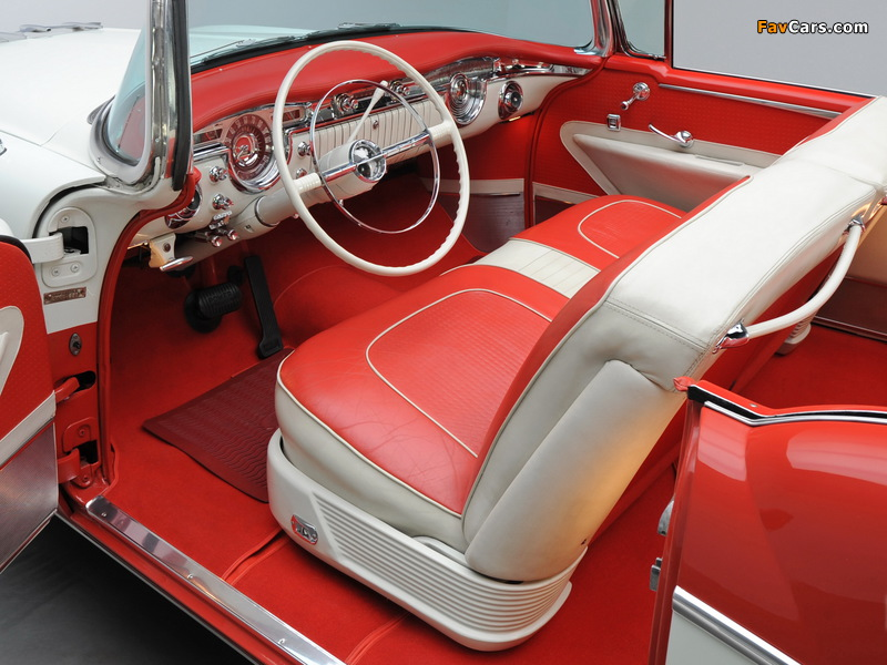 Pictures of Oldsmobile 98 Starfire Convertible (3067DX) 1955 (800 x 600)