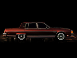 Pictures of Oldsmobile Ninety-Eight Regency Brougham Sedan (W69) 1983–84