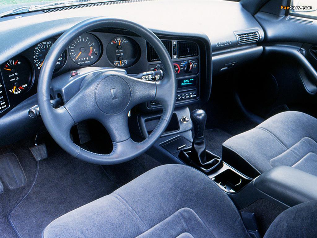 Pictures of Oldsmobile Achieva SCX 1992–93 (1024 x 768)