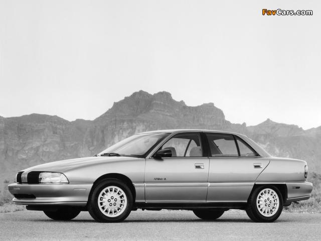 Pictures of Oldsmobile Achieva 1992–97 (640 x 480)