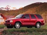 Oldsmobile Bravada 1998–2001 images