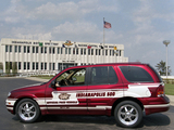 Pictures of Oldsmobile Bravada Indy 500 Pace Car 2001
