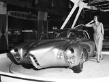 Photos of Oldsmobile Golden Rocket Concept Car 1956