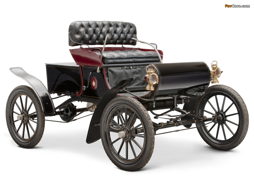 Oldsmobile Model R Curved Dash Runabout 1901–03 images (1024 x 768)