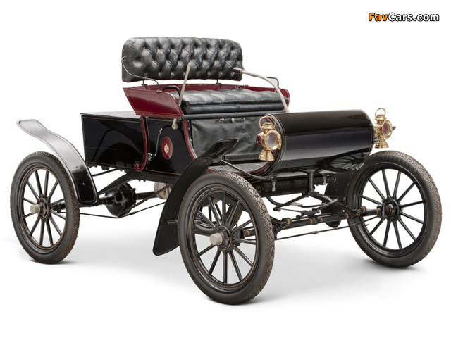 Oldsmobile Model R Curved Dash Runabout 1901–03 images (640 x 480)