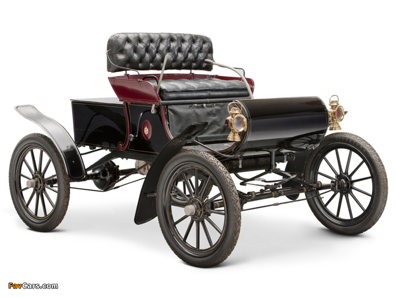 Oldsmobile Model R Curved Dash Runabout 1901–03 images (800 x 600)