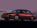 Images of Oldsmobile Cutlass Supreme International Sedan 1990–91