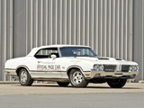 Oldsmobile Cutlass Supreme Convertible Indy 500 Pace Car (4267) 1970 photos