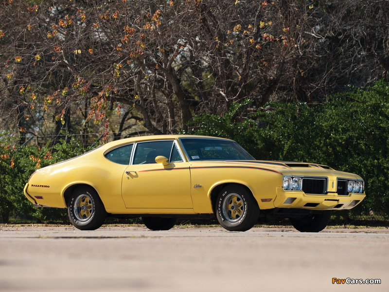 Oldsmobile Cutlass Rallye 350 Sport Coupe 1970 pictures (800 x 600)