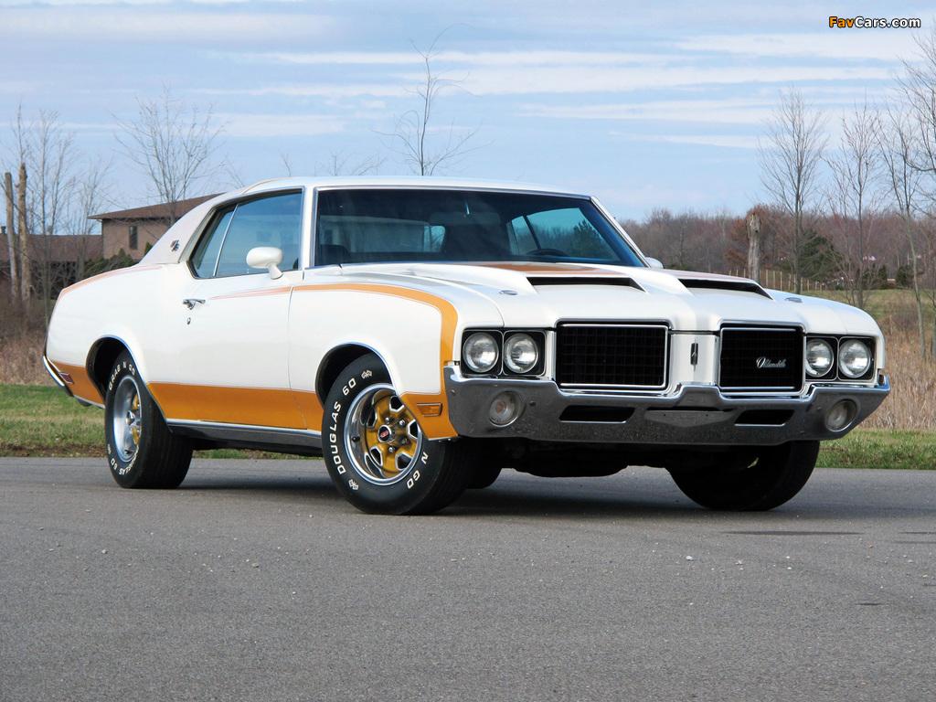 Hurst/Olds Cutlass Supreme Hardtop Coupe Indy 500 Pace Car 1972 photos (1024 x 768)