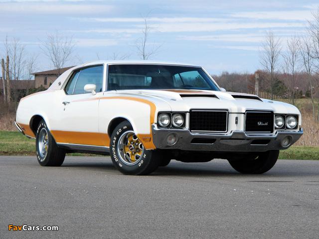 Hurst/Olds Cutlass Supreme Hardtop Coupe Indy 500 Pace Car 1972 photos (640 x 480)