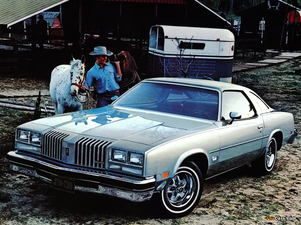 Oldsmobile Cutlass Supreme Coupe 1977 pictures (1024 x 768)