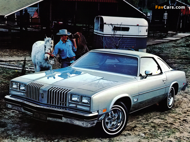 Oldsmobile Cutlass Supreme Coupe 1977 pictures (640 x 480)