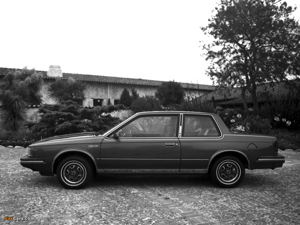 Oldsmobile Cutlass Ciera LS Coupe (J27) 1983 photos (1024 x 768)