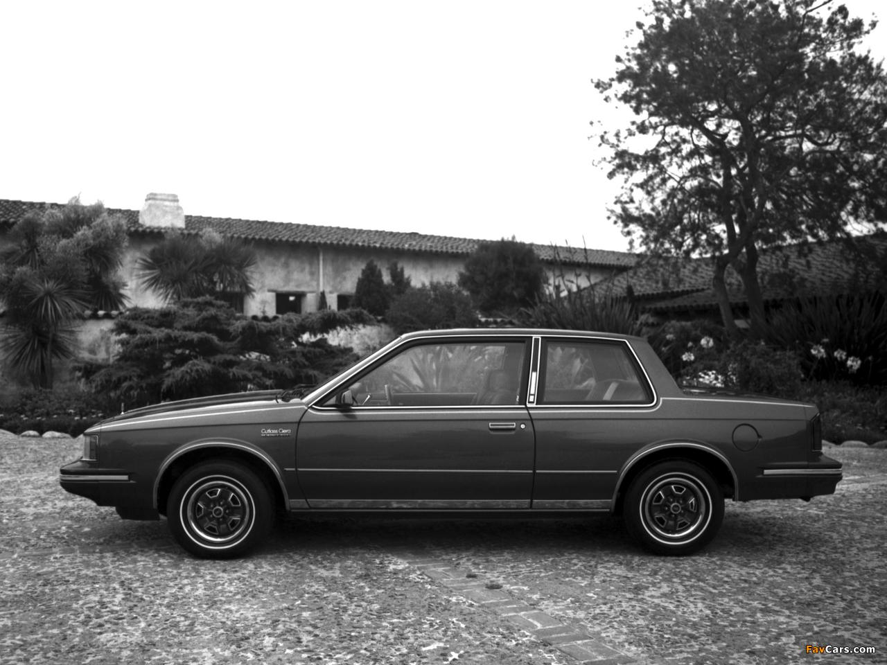 Oldsmobile Cutlass Ciera LS Coupe (J27) 1983 photos (1280 x 960)