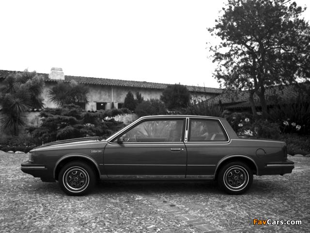 Oldsmobile Cutlass Ciera LS Coupe (J27) 1983 photos (640 x 480)