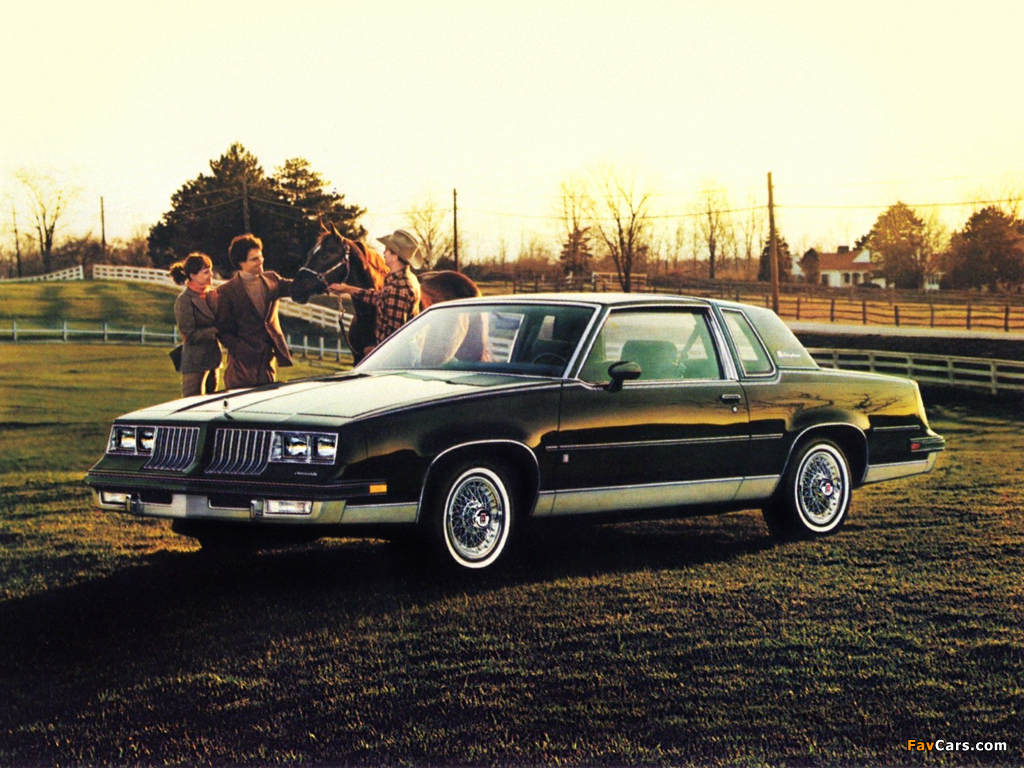 Oldsmobile Cutlass Supreme Brougham Coupe (M47) 1984 images (1024 x 768)