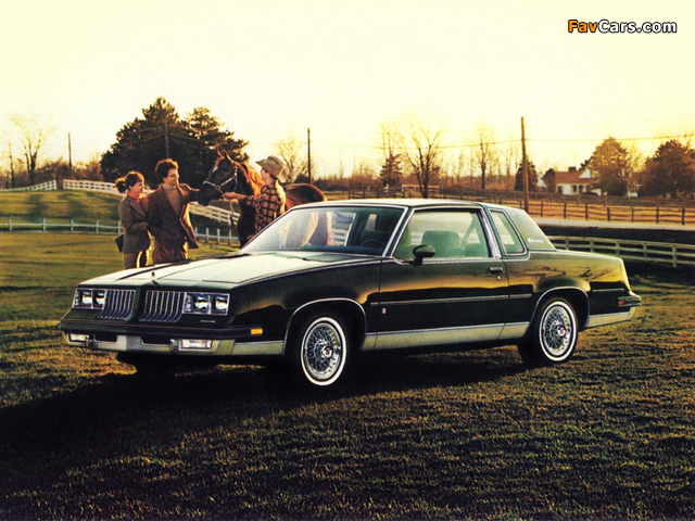 Oldsmobile Cutlass Supreme Brougham Coupe (M47) 1984 images (640 x 480)