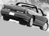 Oldsmobile Cutlass Supreme Convertible 1991–95 photos