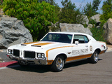 Pictures of Hurst/Olds Cutlass Supreme Hardtop Coupe Indy 500 Pace Car 1972