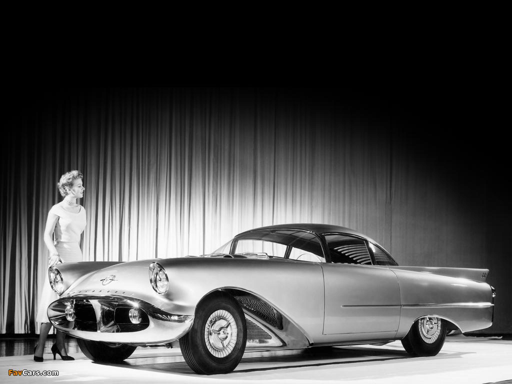 Oldsmobile Cutlass Concept Car 1954 wallpapers (1024 x 768)