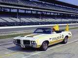 Hurst/Olds Cutlass Supreme Convertible Indy 500 Pace Car 1972 wallpapers