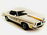 Oldsmobile Cutlass Coupe Indy 500 Pace Car 1974 wallpapers