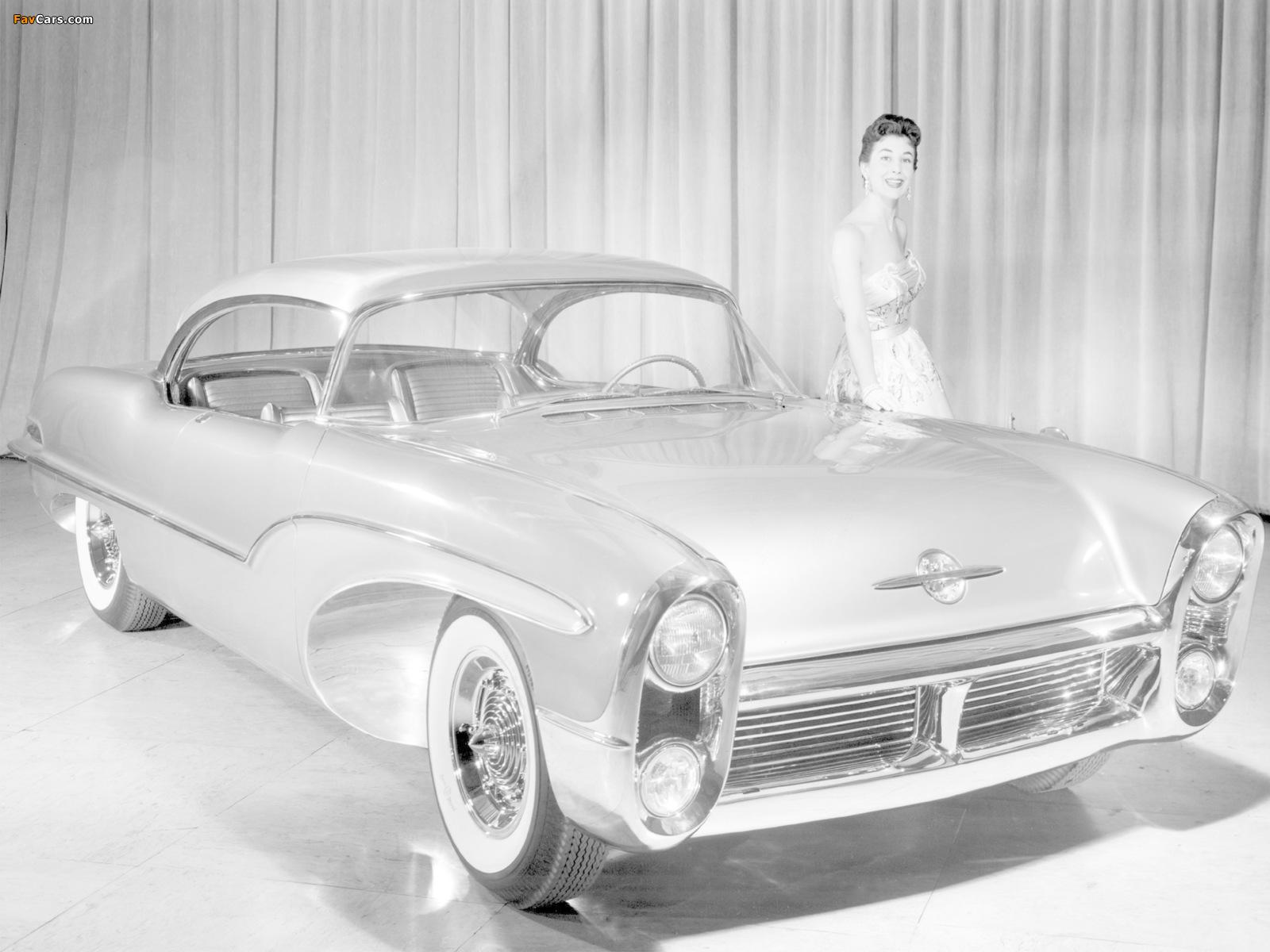 Oldsmobile Delta 88 Concept Car 1955 photos (1600 x 1200)