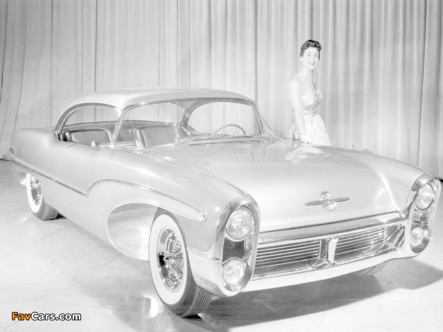 Oldsmobile Delta 88 Concept Car 1955 photos (640 x 480)
