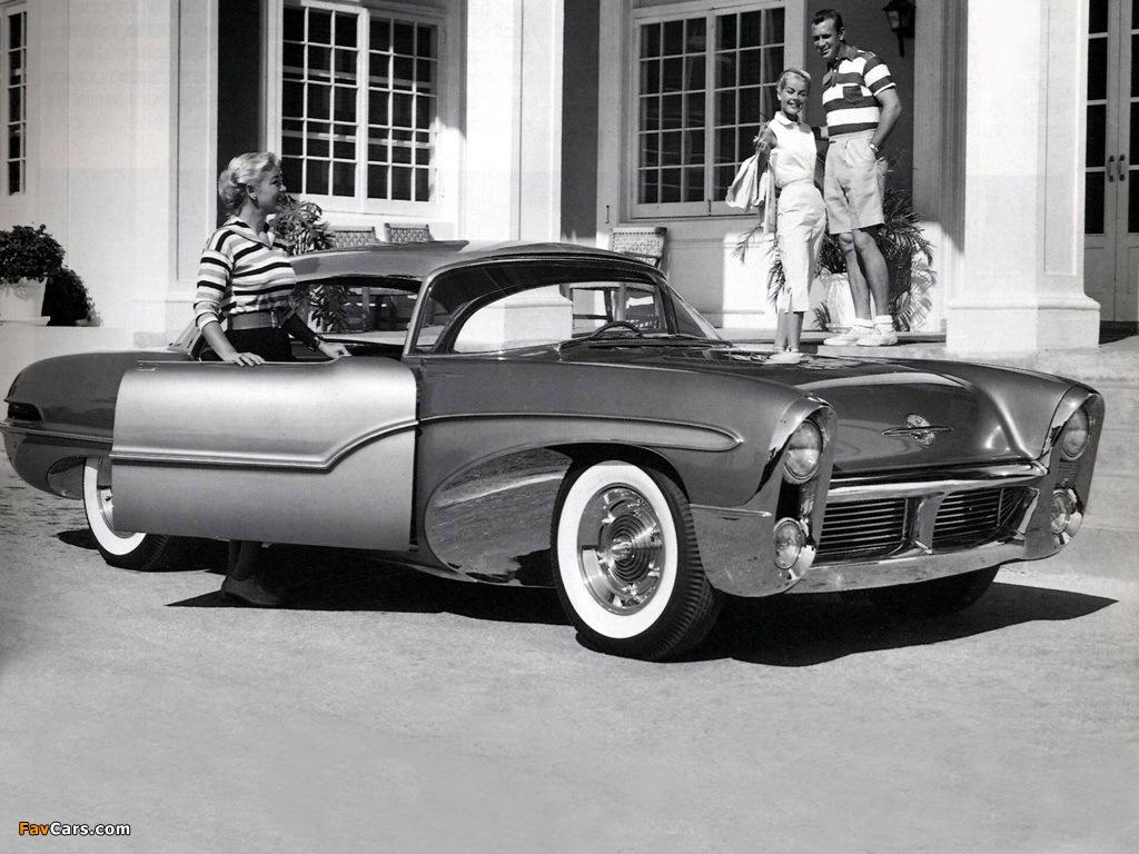 Oldsmobile Delta 88 Concept Car 1955 pictures (1024 x 768)