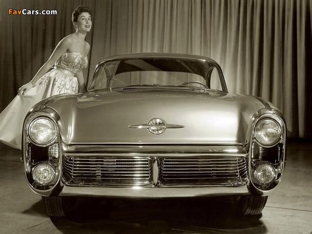 Oldsmobile Delta 88 Concept Car 1955 wallpapers (640 x 480)