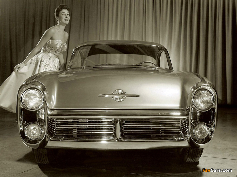 Oldsmobile Delta 88 Concept Car 1955 wallpapers (800 x 600)