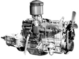 Images of Engines  Oldsmobile Custom Cruiser