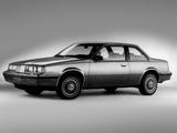 Oldsmobile Firenza Notchback Coupe 1986 images