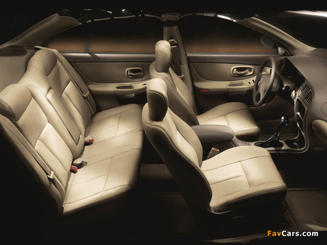 Oldsmobile Intrigue 1998–2002 wallpapers (640 x 480)