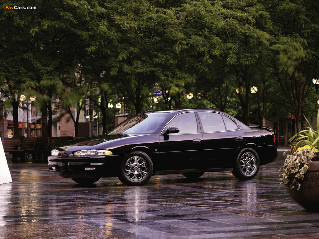 Oldsmobile Intrigue 1998–2002 wallpapers (1024 x 768)
