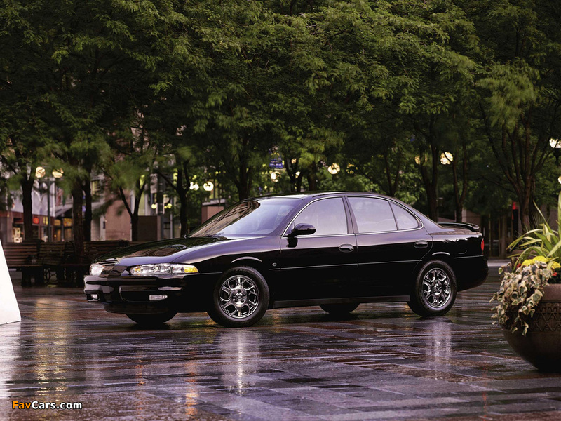 Oldsmobile Intrigue 1998–2002 wallpapers (800 x 600)