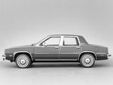 Oldsmobile Omega Sedan (B69) 1981 wallpapers