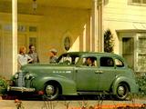 Pictures of Oldsmobile 60 4-door Sedan 1939
