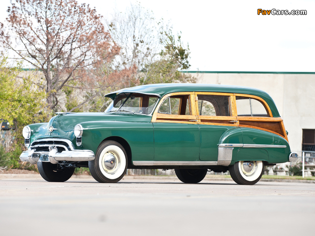 Oldsmobile 76 DeLuxe Station Wagon 1949 wallpapers (640 x 480)