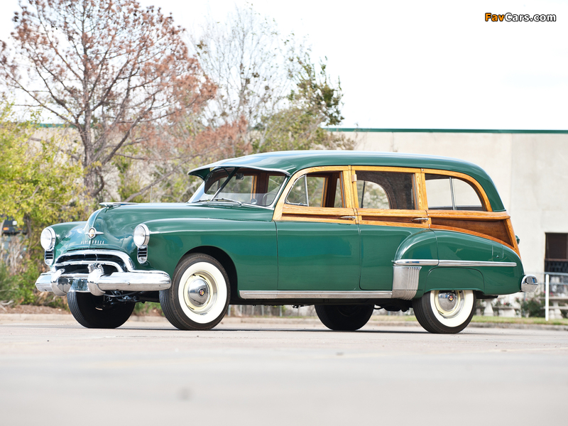 Oldsmobile 76 DeLuxe Station Wagon 1949 wallpapers (800 x 600)