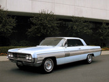 Oldsmobile Starfire Hardtop Coupe 1962 wallpapers