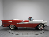 Photos of Oldsmobile 98 Starfire Convertible (3067DX) 1955