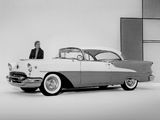 Oldsmobile Super 88 Holiday Coupe (3637D) 1955 wallpapers