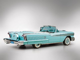 Photos of Oldsmobile Super 88 J-2 Convertible (3667DTX) 1958