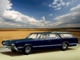 Oldsmobile Vista Cruiser Custom (3865) 1966 wallpapers