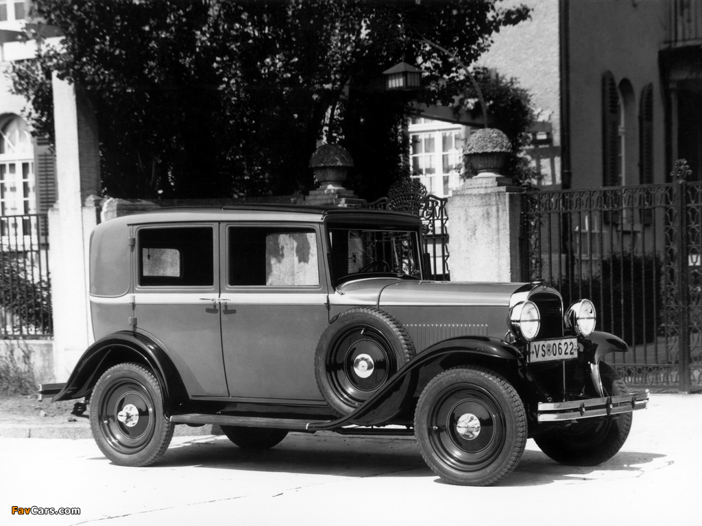 Opel 1.8 Liter Saloon 1931–33 photos (1024 x 768)