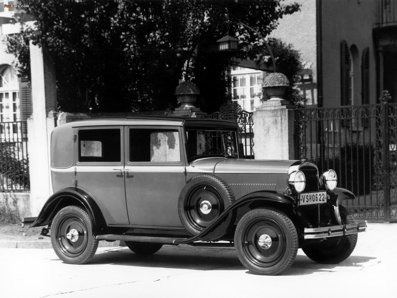 Opel 1.8 Liter Saloon 1931–33 photos (1600 x 1200)
