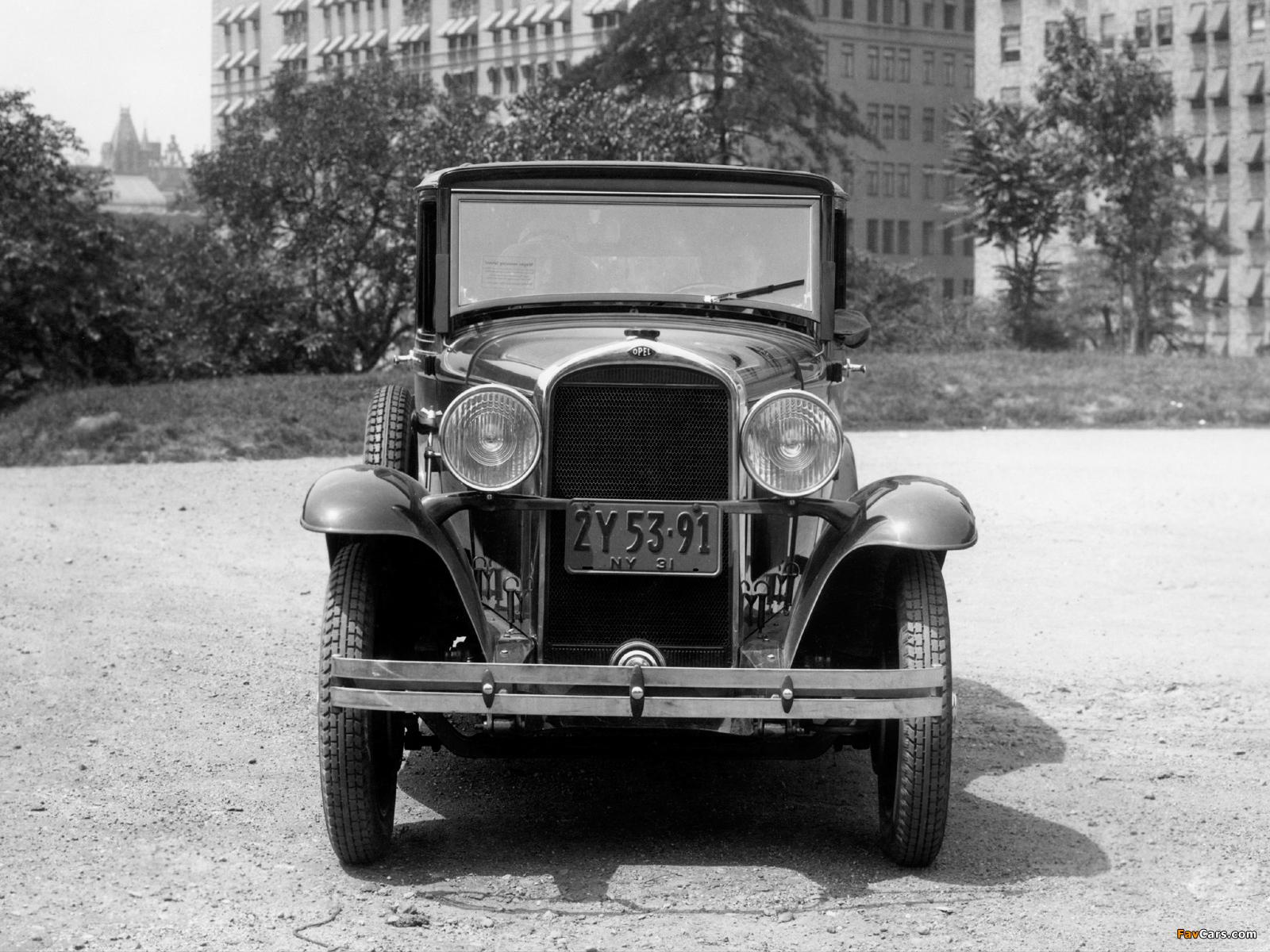 Photos of Opel 1.8 Liter Saloon 1931–33 (1600 x 1200)
